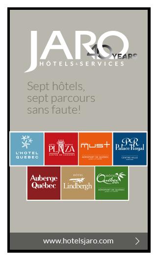 Publicité Hôtels Jaro
